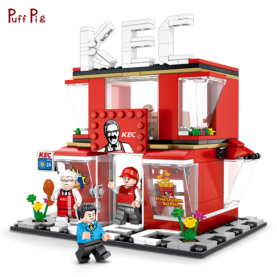 320pcs Chinese Mini Convenience Store Shop Building Blocks Scene Sets Compatible Legoed Street View Creative Brick Kid Toys Gift anime naruto shippuden uchiha itachi brinquedos pvc action figure toys collectible model doll juguetes kids toys 23cm