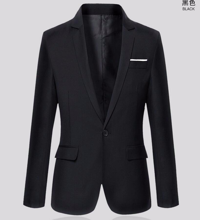 33.1 spring and autumn season and the leisure suit jacket business men\'s single blazer top custom cheap men\'s suit