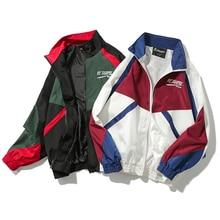 Hip Hop Jacket Windbreaker Men/Women Harajuku Jacket