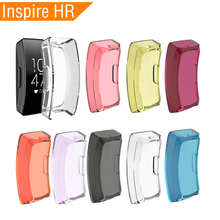 Soft Smart Watch Replacement TPU Case For Fitbit Inspire HR Full Cover Screen Protector For Fitbit Inspire HR Watch Accessories