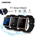 New Arrive Men Women Watch F1 Waterproof Smart Watch Sync Call SMS Facebook Pedometer Sleep Camera Player Anti Lost Smartphone