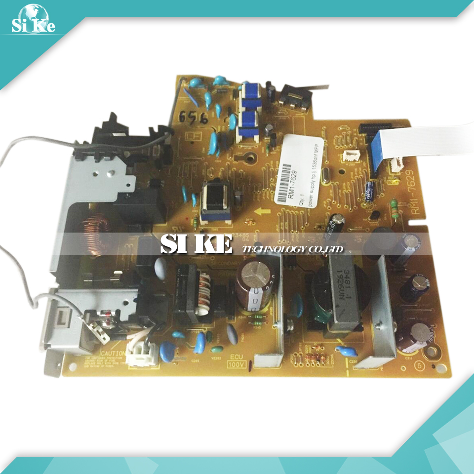 ФОТО LaserJet  Engine Control Power Board For HP M1536 M1536DNF 1536 1536DNF RM1-7630 RM1-7629 Voltage Power Supply Board