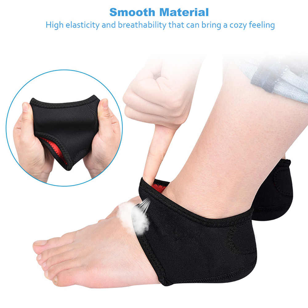 bc16f14ccf ... Sunvo Plantar Fasciitis Socks for Achilles Tendonitis Calluses Spurs  Cracked Pain Relief Heel Pads Women Foot ...