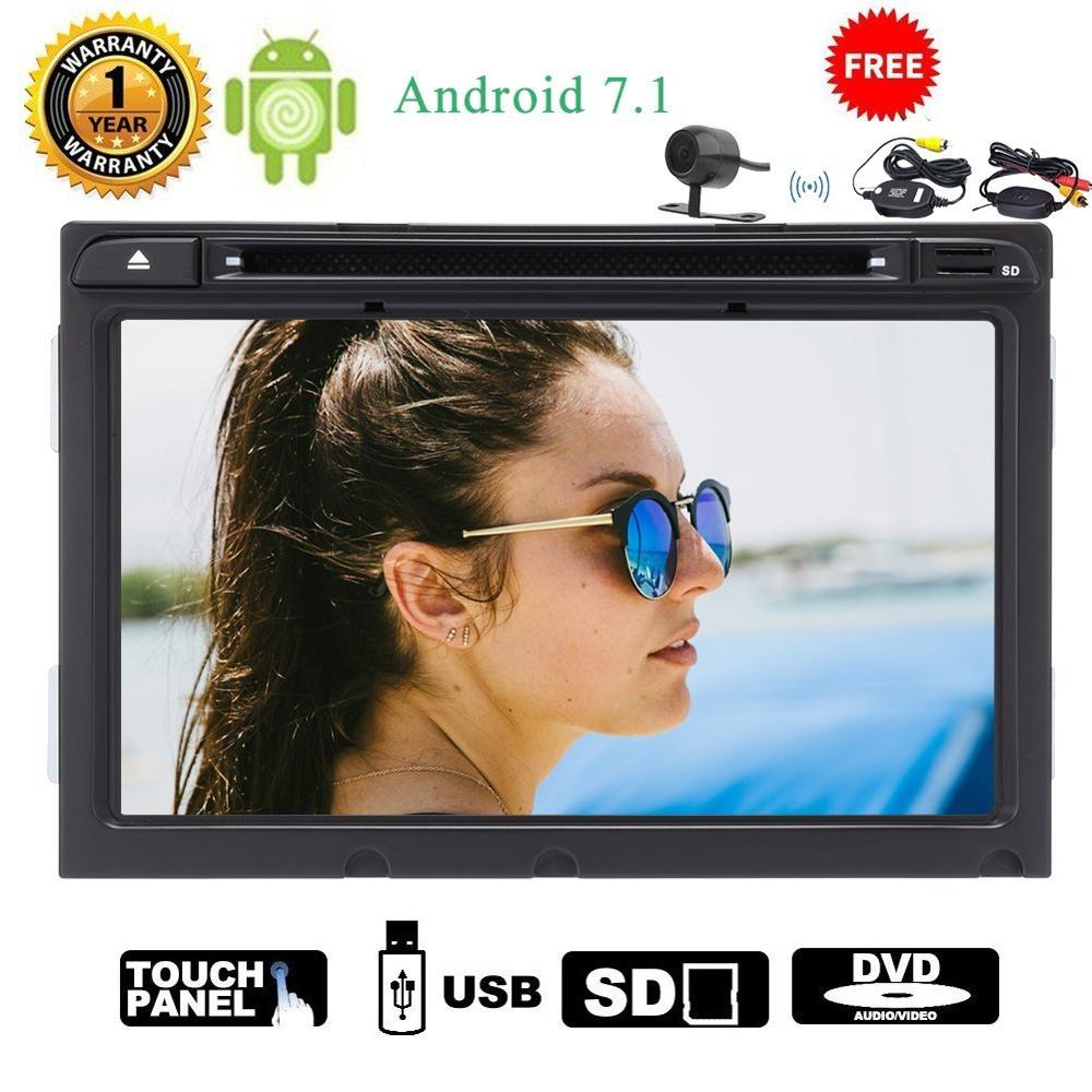 Wireless camera+EinCar 8 Android 7.1 Car Stereo Head Unit 2 Din GPS Navigation Bluetooth Car Radio Audio Wifi FM/AM 1080P Video
