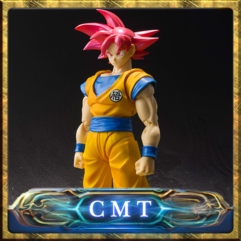 CMT INSTOCK BANDAI Dragon Ball S.H.Figuarts Super SaiYan GOD SON GOKOU Action Figuarts liquid cooling cold plate system for power modules