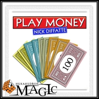 Play Money By Nick Diffatte Ever Wanted To Pay With PLAY MONEY Close Up Card Magic