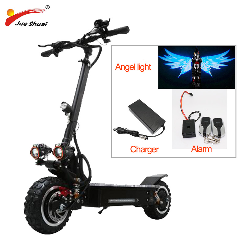Ambitious Electric Scooter 11 Inch Off Road 80km/h Battery 60v3200w Electric Motor Adult Kick E Scooter Folding Patinete Electrico Adulto Electric Scooters Roller Skates, Skateboards & Scooters