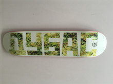Russian Brand Union 8″ Full Canadian Maple Skateboard Deck Wooden Letter Pattern Shape Skate