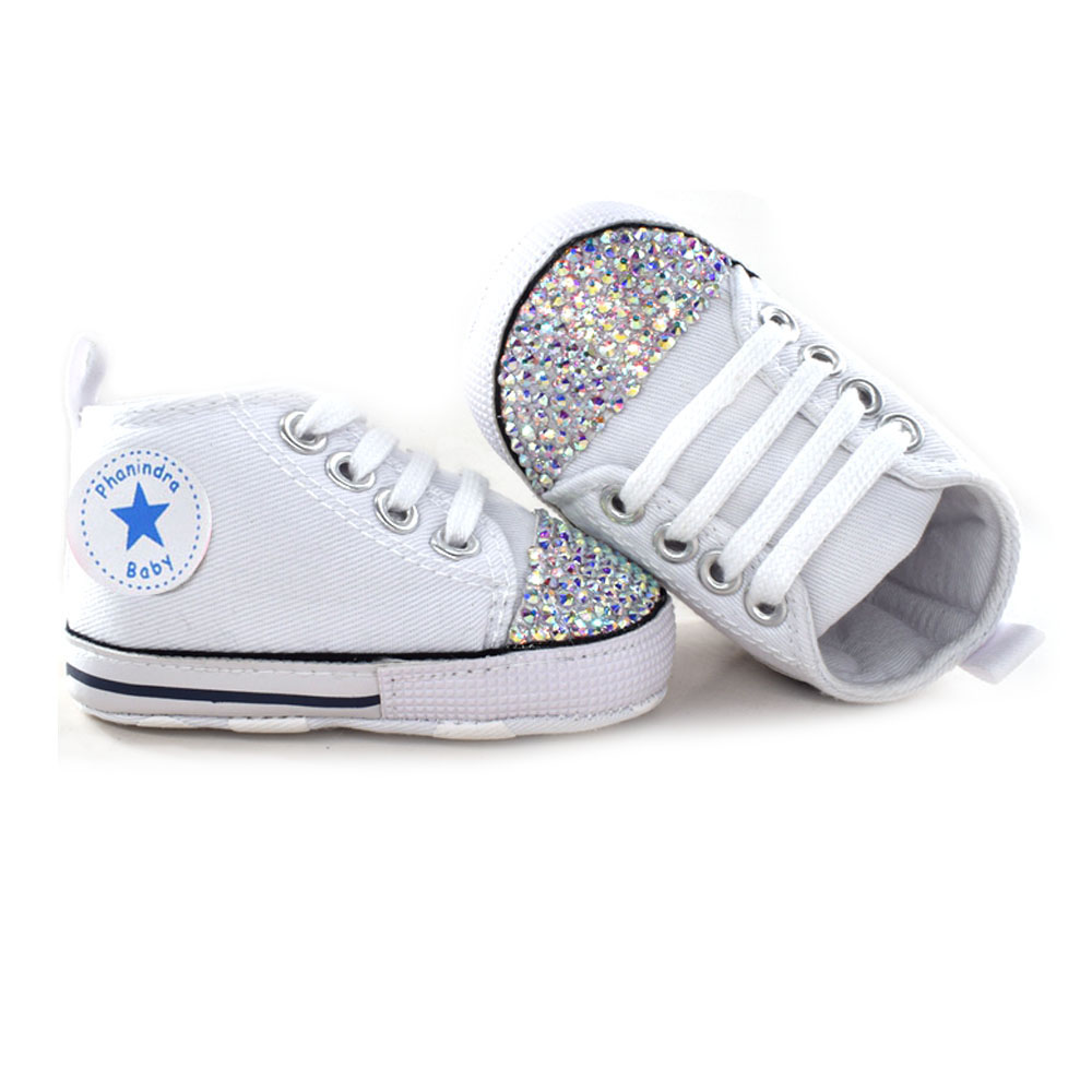 14e855842528c newborn baby Shoes bling White lace Baby Girl Lace Shoes headband set  Toddler Prewalker cute Baby Shoe 0 18month-in First Walkers from Mother &  Kids on ...