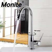 RU China Fashionable In Design And Superb In Workmanship Kitchen Faucet 360 Degree Swivel Hot Cold