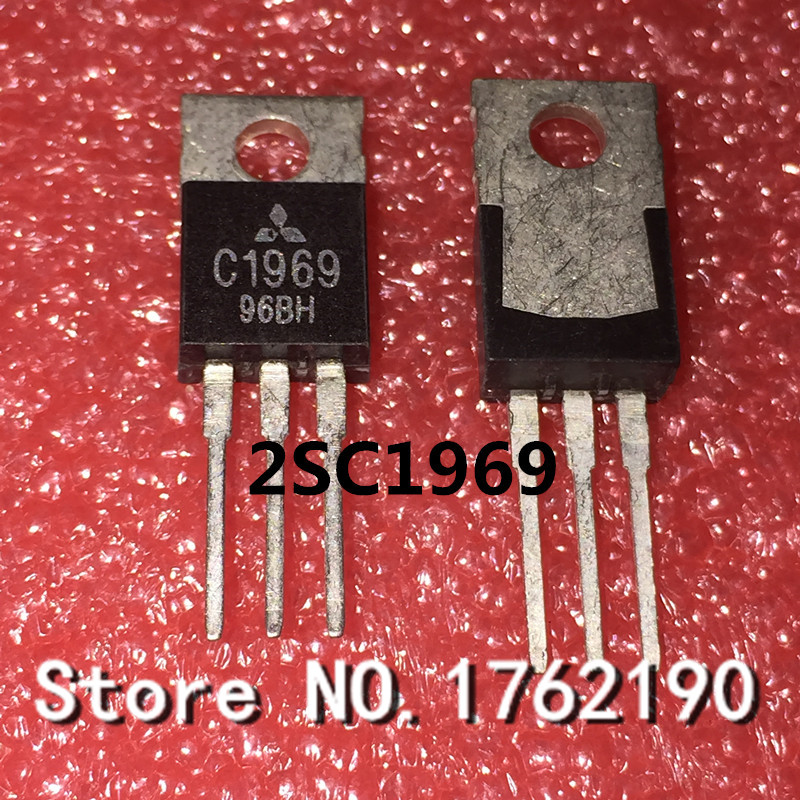 5PCS/LOT     C1969   2SC1969 TO-220  RF Power Amplifier