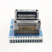 RT809H SOP28 to DIP28 Adapter Socket IC SOIC28 to DIP28 pin pitch 1.27 IC test programmer adapter SMT Test Socket ZIF adapter|Connectors| |  -