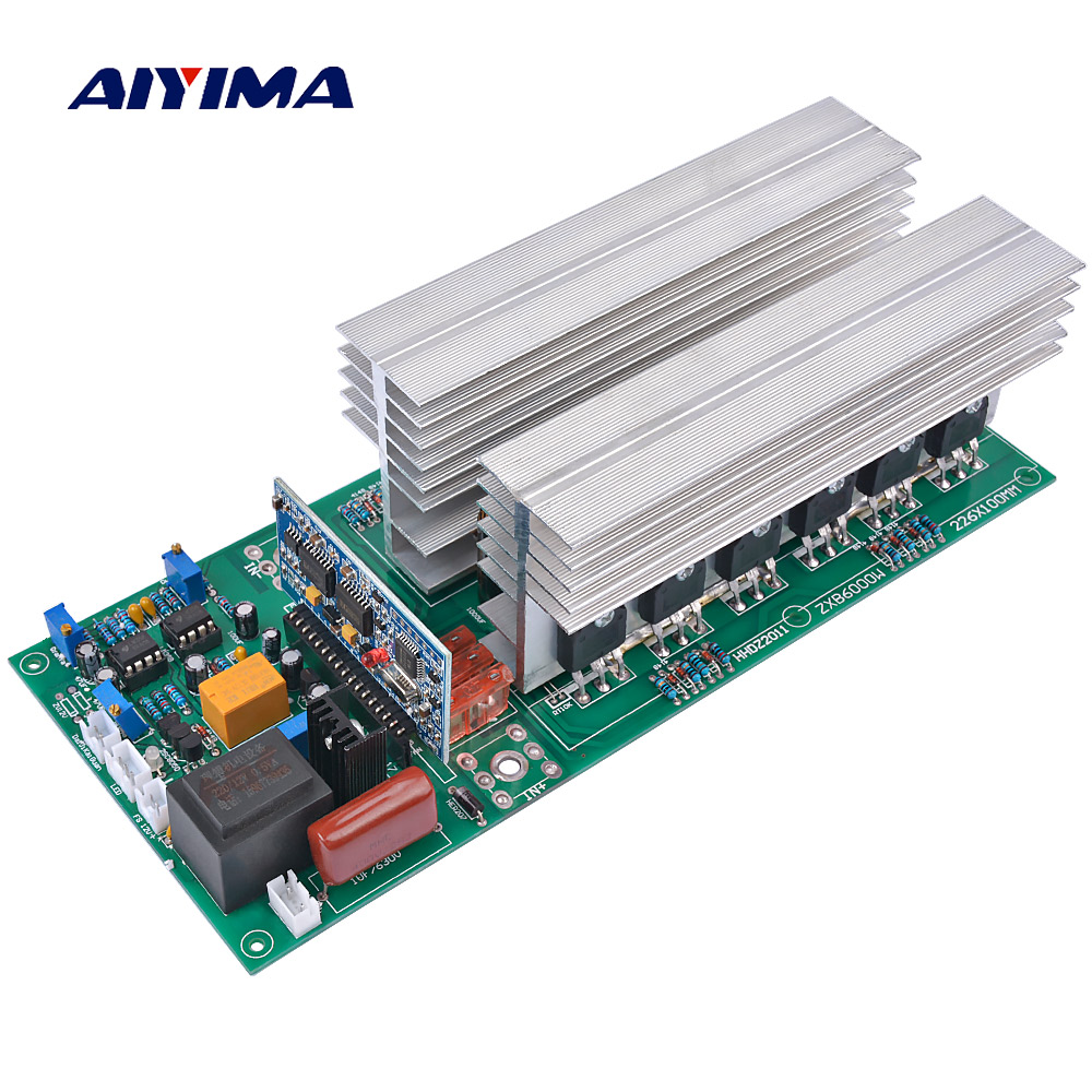 AIYIMA Pure Sine Wave Solar Power Inverters DC 12V 24V 36V 48V 60V To 220V 1500