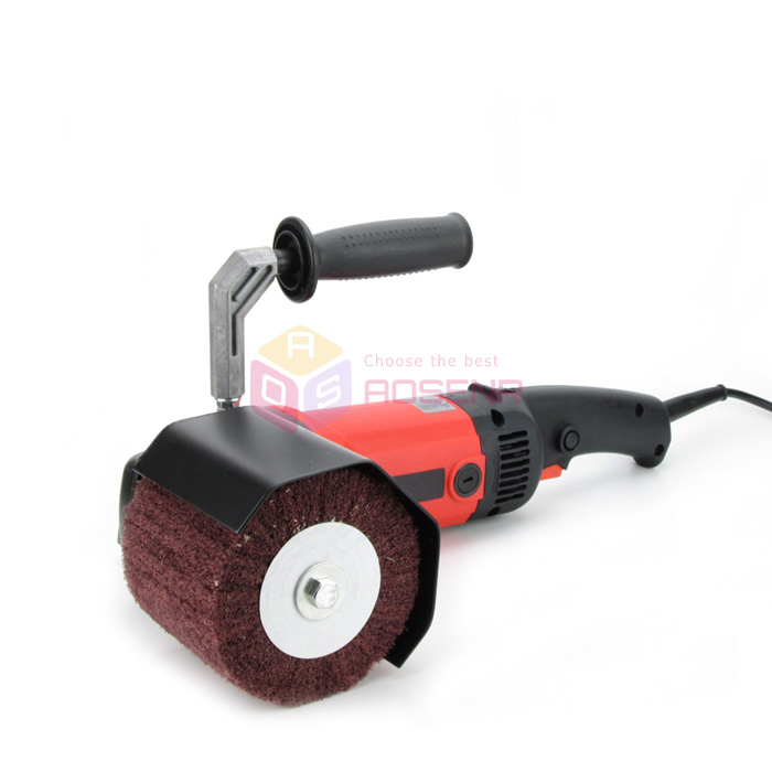 1200w 110 220v Burnishing Polishing Machine Polishing Wheel Pad Polisher Sander Grinder Wire Drawing Machine
