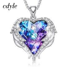 347be5aaf331 Swarovski Azul Collar De Corazón - Compra lotes baratos de Swarovski ...