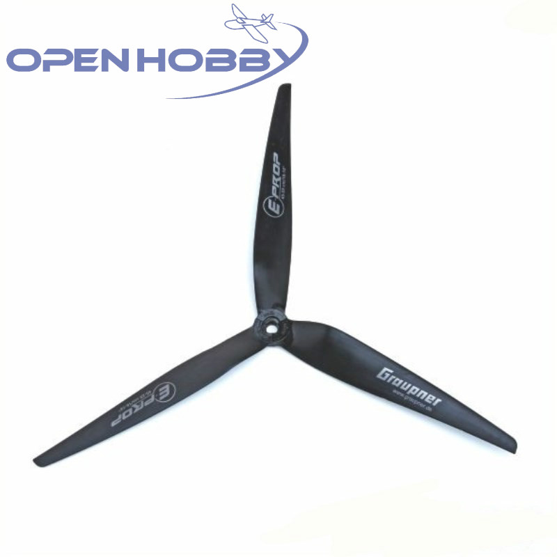 Graupner PROPELLER 3-BLADE E-PROP 9 x 5 (23 12 cm) For Helicopter Part RC Toys Airplane Quadcopter