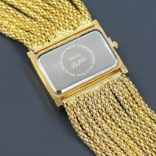 montre femme Women Fashion Multi-layer Beads Analog Quartz Alloy Band Bracelet Wrist Watch reloj mujer