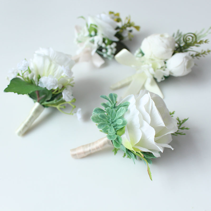 wedding boutonniere corsage groom  (6)