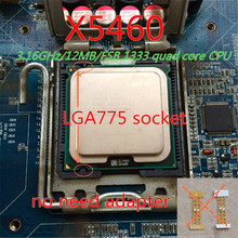 XEON X5460 CPU 3.16GHz /12MB cache /1333Mhz Quad Core Server Processor can working some 775 socket mainboard update first choice