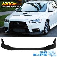 Для 08-15 Mitsubishi Lancer Evolution X VR style передний бампер для губ Global БЕСПЛАТНАЯ доставка по всему миру