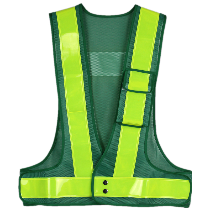 safety reflective vest clothing running race high