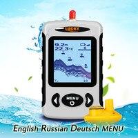 Ngôn Ngữ nga May Mắn FFW718 Portable Wireless Fish Finder Ice Winter Du Thuyền Câu Cá Cảm Biến độ Phạm Vi Không Dây 100 m # C3