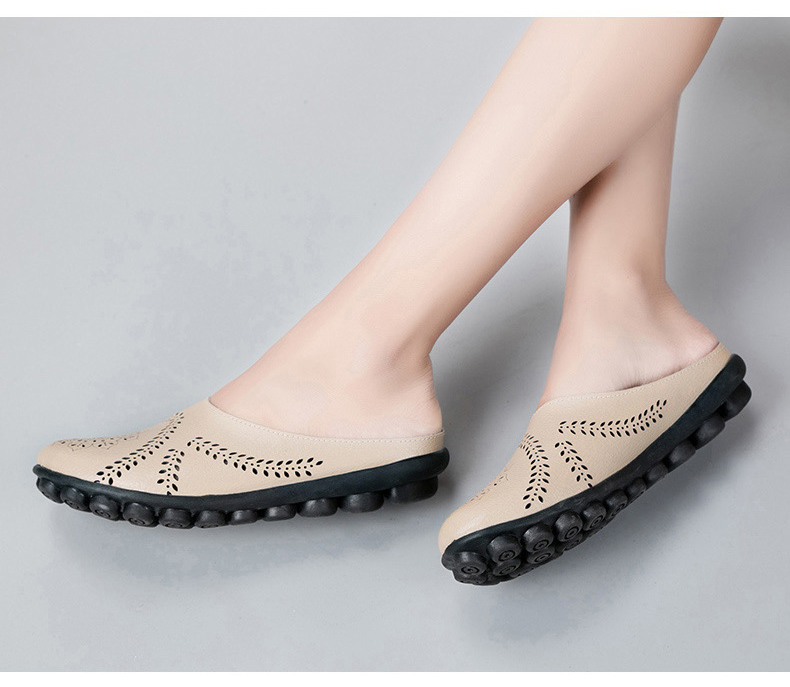 XY 991 Cut Outs Women's Summer Flats Shoes -22