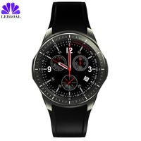 Smart Watch Phone Support Android 5 1 MTK6580 DM368 Smart Watch MTK6580 Quad Core 512MB 8GB