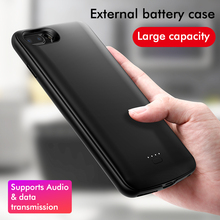 LINGCHEN for iPhone Battery Case 6000 mAh For iPhone 8 7 6 6S Plus Power Bank Charing Case 5000 mAh Battery Charger Back Cover
