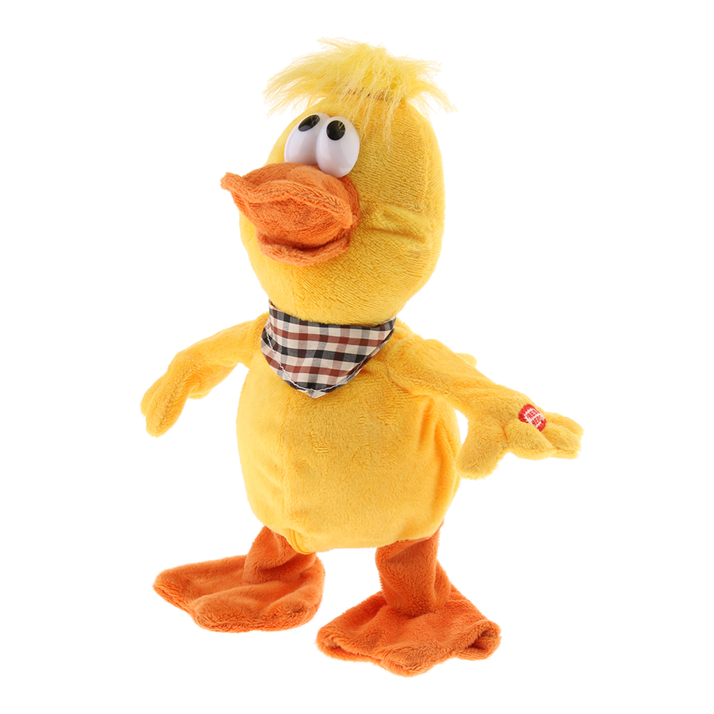 Creative Electronic Singing Dancing Animal Doll With Sound Baby Toddler Early Learning Toy Gadget - Duck