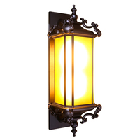 Outdoor Nordic Wall Lamp Balcony Corridor Sconce Wall Lights Modern Wall Light Waterproof Outdoor Led Glass Wall sconces
