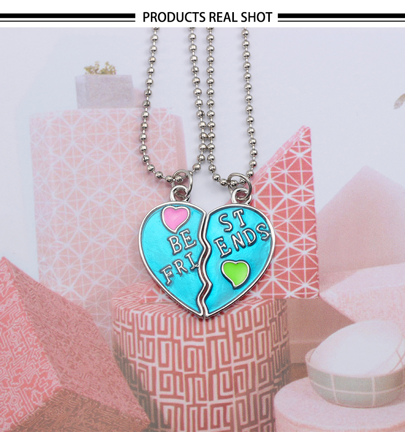 HTB1yDfCXinrK1Rjy1Xcq6yeDVXaI - Best Friend Necklace Women Crystal Heart Tai Chi Crown Best Friends Forever Necklaces Pendants Friendship BFF Jewelry Collier