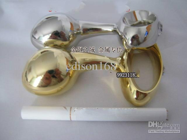 Wholesale - stainless steel anal toys,Metal Butt Plugs,anal bead,anus Toys,Adult Sex Toys for unisex/gold,silver