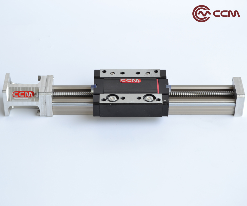 Mouvement linéaire de CNC à vis à billes de voyage 50mm avec moteur pas à pas Nema17