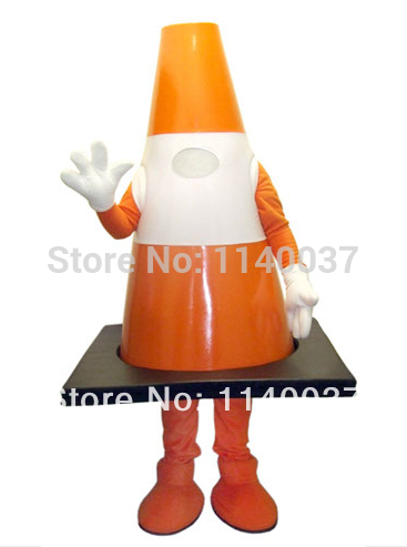 mascot the traffic cone mascot costume custom fancy dress cosplay cartoon mascotte costume carnival costume fancy in mascot from novelty special use on