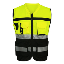 Mnds jaune securite жиле reflectante chaleco светоотражающий рабочая желтый жилет безопасности