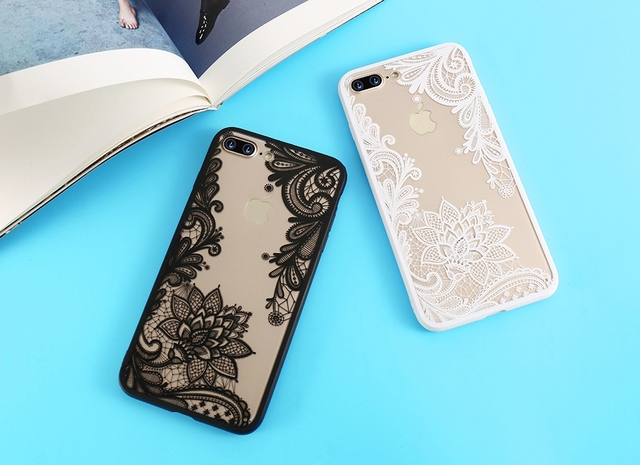 Lace Flower Phone Cases For iPhone 6