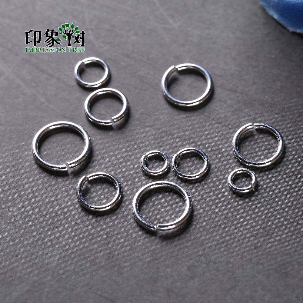 Solid Sterling Silver Heavy 6mm Jump Rings Packet of 5