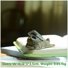 Фотография Everyday Collection Home Decorat New Year Cute Owl Animal Resin Miniature Figurine Gift Decor Home Bonsai Ornament Accessories