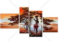 New 5d DIY Diamond Painting Landscape Pattern Handmade Craft Full Square Diamond Embroidery Tree and Woman Wall Art Decoration