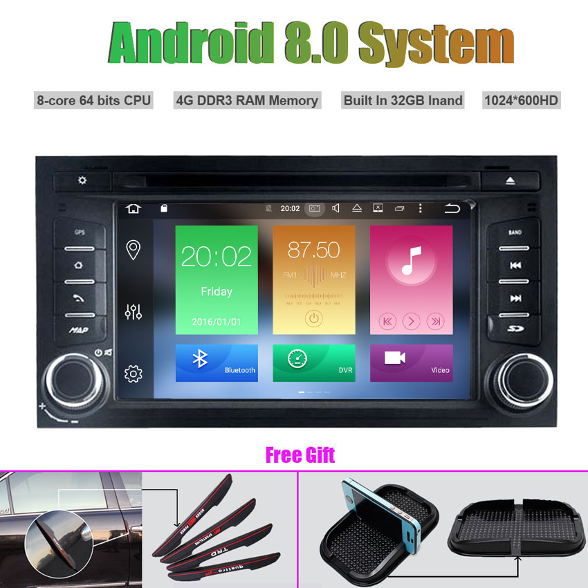 Top Octa-Core Android 8.0 CAR DVD Player for SEAT LEON 2013-2014 0