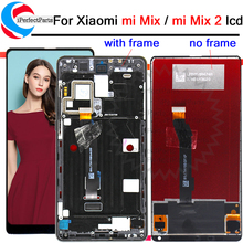 "5.99 ""ips display para xiaomi mix 2/mi mix lcd digitador da tela de toque com quadro snapdragon 835 para mi mix 2 lcd"