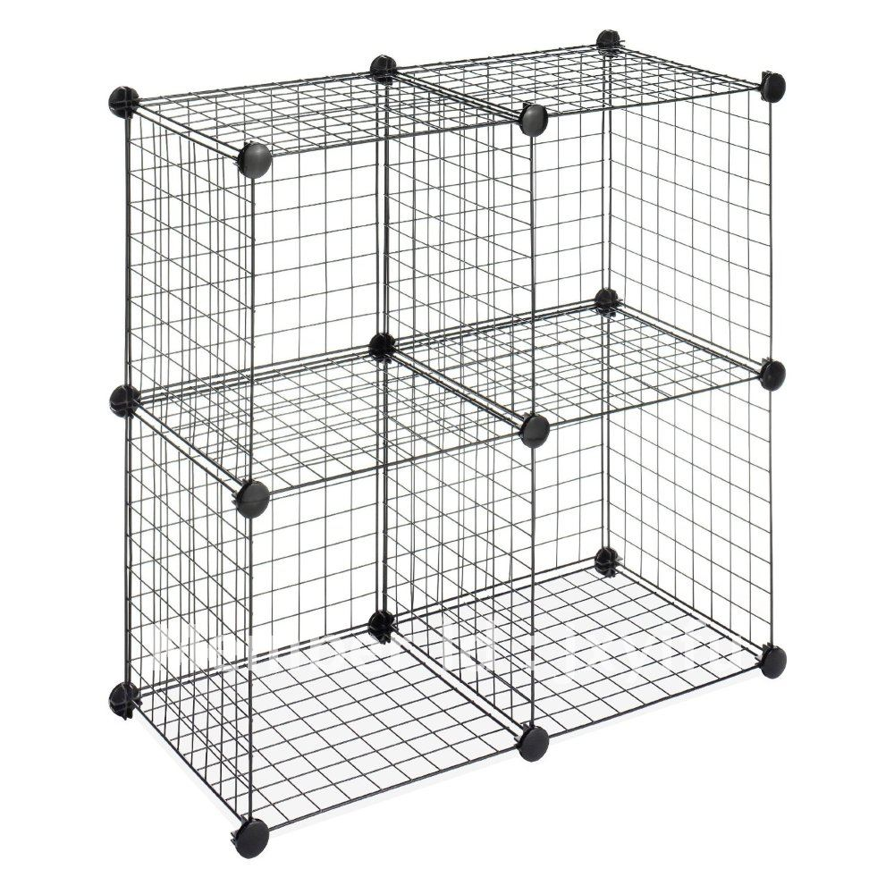 Marvelous Stackable Wire Mesh Storage Cubes In Storage Baskets From Home U0026 Garden On  Aliexpress.com | Alibaba Group