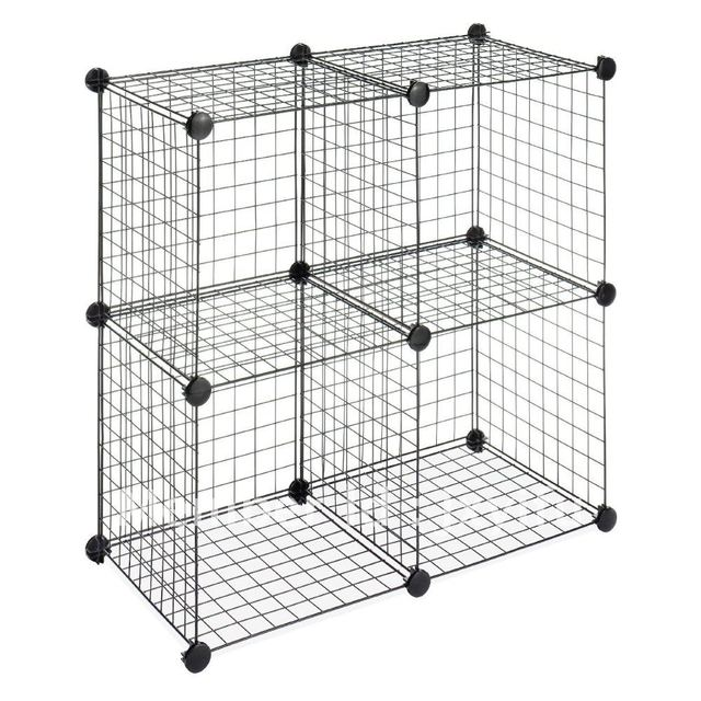 Superbe Stackable Wire Mesh Storage Cubes