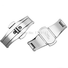 Watch Accessories Butterfly Folding Clasp Buckle For tungsten Strap Steel buckle strap