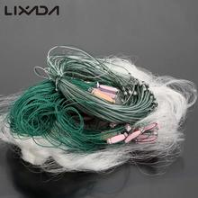 Lixada 25m 3 Layers Monofilament Gill Fishing Net with Float Fish Trap Rede De Pesca Fishing Network