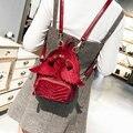Mini Rucksack Frauen Angel Wings Teenager Schultaschen Plissee Fashion Nette Velour Rucksäcke mochila 2018 Koreanisch Japan stil-in Rucksäcke aus Gepäck & Taschen bei