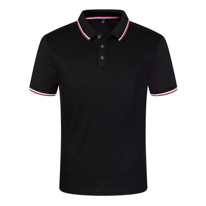 New 2019 Solid Color Summer   Polo   Shirts Men Short Sleeve Breathable Brand   Polos   Plus Size G113