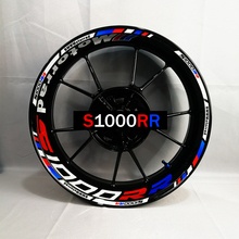 Used for customizing inner rim of BMW 1000RR motorcycle before and after refitting wheel sticker, waterproof and reflective rim все цены