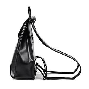 Image 3 - Yeni moda kadınlar sırt çantası gençlik Vintage deri gençler için sırt çantaları kızlar yeni kadın okul çantası sırt çantası mochila kese dos